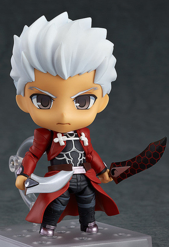 486 Fate/stay night [Unlimited Blade Works] Nendoroid Archer: Super Movable (re-run)