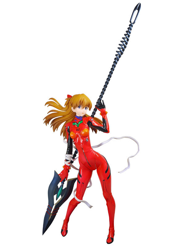 Evangelion: 2.0 You Can (Not) Advance (Evangelion: The New Movie: Break) Clayz Asuka Langley  1/8 Cold cast Figure(Re-production)