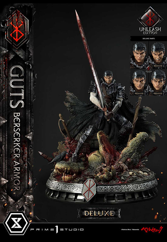 BERSERK Prime 1 Studio GUTS, BERSERKER ARMOR UNLEASH EDITION DELUXE VERSION