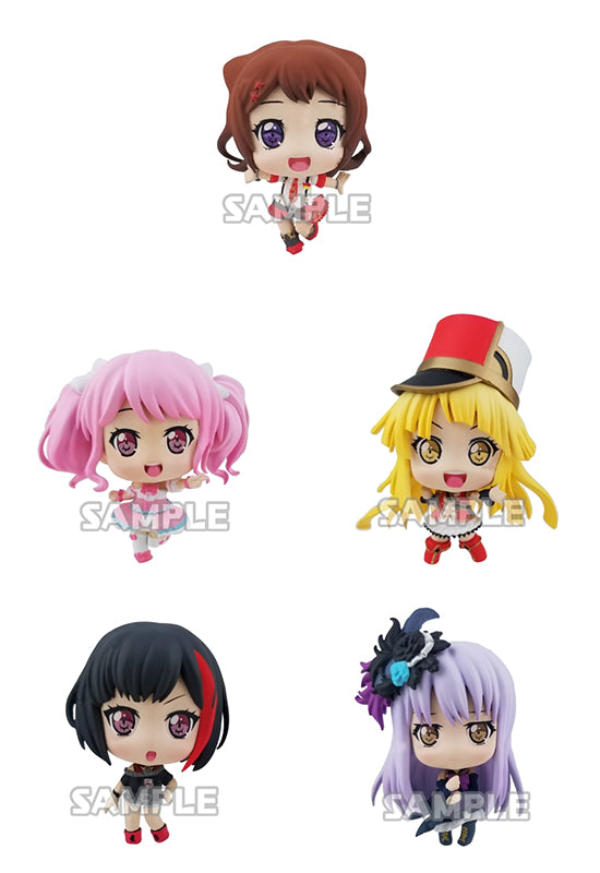 BanG Dream! Girls Band Party! Bushiroad Creative Collection Figure VOCAL COLLECTION  (Set of 6 Characters)