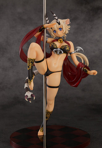 The Seven Deadly Sins Orchidseed Belphegor pole dance another color Ver.UART Limited Version (With Original Clear holder + Big Tapestry Poster)