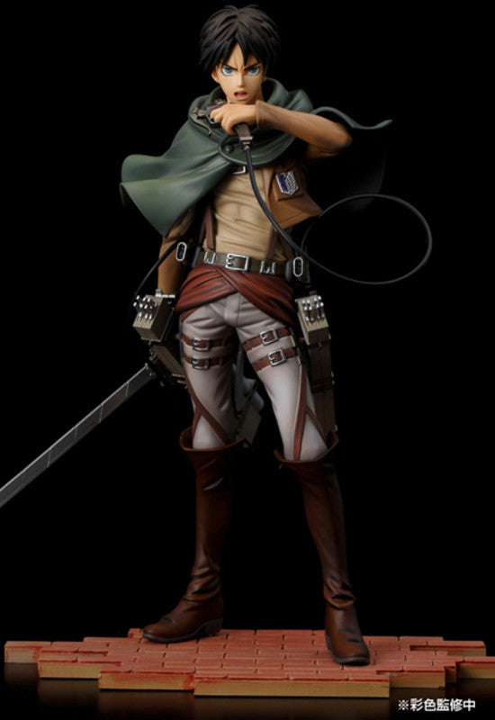 Attack on Titan Sentinel Eren Yeager BRAVE-ACT 1/8