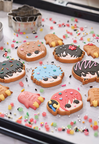 GINTAMA MEGAHOUSE CHARM PATISSERIE GIN-SAN'S COOKIE SHOP(Box of 6)
