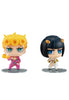 004 JOJO'S BIZARRE ADVENTURE GOLDEN WIND MEGAHOUSE CHIMIMEGA Buddy Series  GIORNO & BUCCELLATI SET