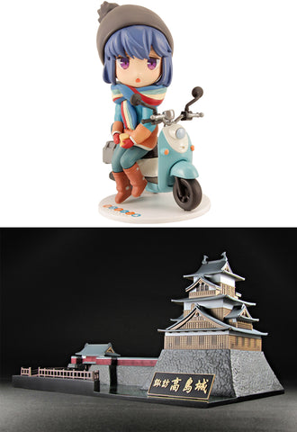 Yuru Camp PLUM Takashima Castle × Yuru Camp -Castle and Camp and Solo Camp Girl-