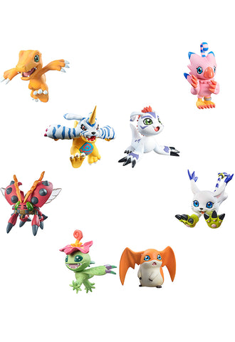 DIGIMON ADVENTURE MEGAHOUSE DIGICOLLE MIX (Box of 8 Characters)