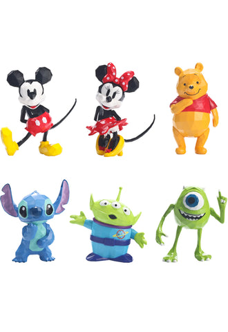 Disney Sen-Ti-Nel POLYGO MINI ACTION FIGURE COLLECTION (Set of 6)