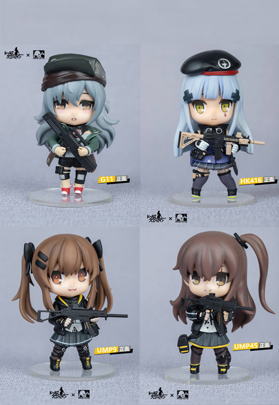 Dolls Frontline RingToys 404 Team Official Figure Set of 4