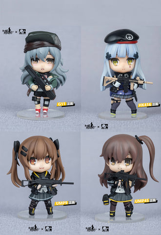 Dolls Frontline RingToys 404 Team Official Figure (Set of 4 Characters)