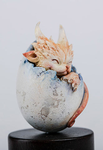 Dragon Egg Series Sum-Art Cat Dragon