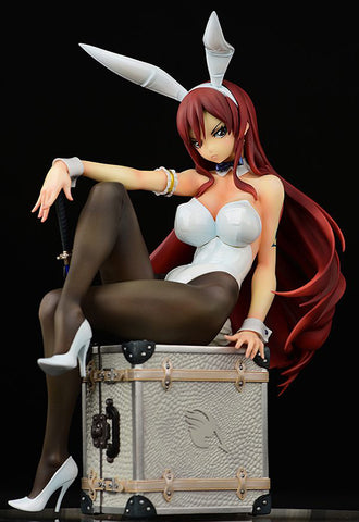 FAIRY TAIL OrcaToys Erza Scarlet Bunny girl_Styl/type white