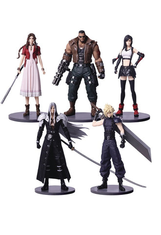 FINAL FANTASY VII Square Enix REMAKE TRADING ARTS (SET OF 5)