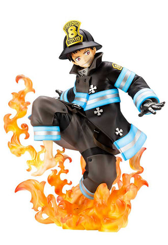 FIRE FORCE Kotobukiya SHINRA KUSAKABE ARTFX J