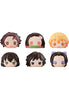 DEMON SLAYER MEGAHOUSE FLUFFY SQUEEZE BREAD (Set of 6 Characters)