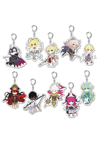 Fate/Grand Order HOBBY STOCK Pikuriru! Fate/Grand Order Trading Acrylic Keychain vol.3 (Set of 10 Characters)(4th-run)