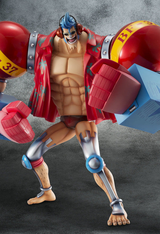 One Piece P.O.P. Sailing Again Maximum Armored Franky (Reproduction)