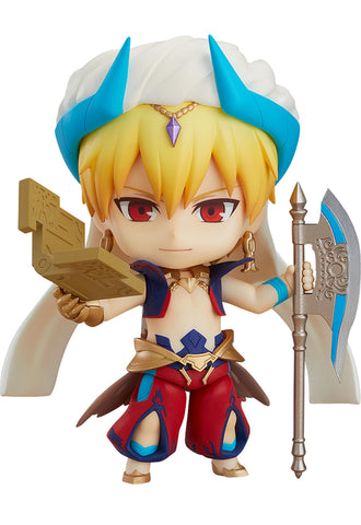 990-DX Fate/Grand Order Nendoroid Caster/Gilgamesh: Ascension Ver.