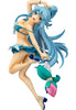 KONO SUBARASHII SEKAI NI SYUKUFUKU WO! 2 Phat! A scale figure of the Goddess of Water, Aqua!