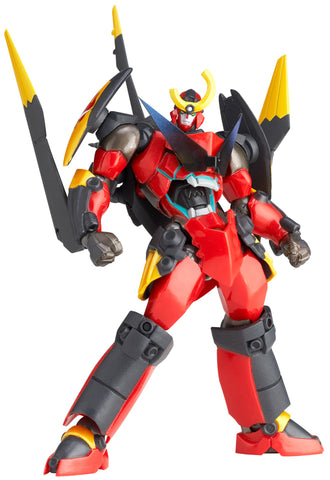 Gurren Lagann Legacy of Revoltech KAIYODO Gurren Wing Equipped