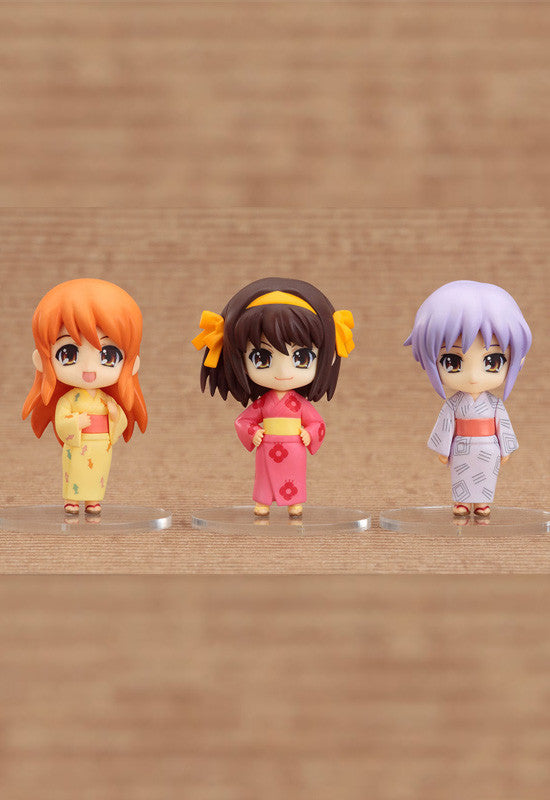 The Melancholy of Haruhi Suzumiya Nendoroid Set Summer Festival