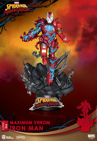 MAXIMUM VENOM Beast Kingdom IRON MAN