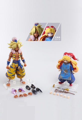 Trials of Mana BRING ARTS™ Square Enix Action Figure KEVIN & CHARLOTTE