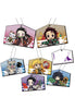 DEMON SLAYER MEGAHOUSE KIRAKIRA Acrylic Mascot Ver.EMA (Set of 6 Characters)