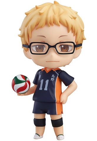 616 Haikyu!! Second Season Nendoroid Kei Tsukishima (3rd re-run)