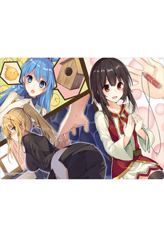 Kono Subarashii Sekai ni Shukufuku wo! Bushiroad Rubber Play Mat Collection Vol. 322 『Aqua / Megumin / Darkness』Part. 2