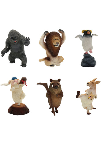 ANIMAL LIFE UNION CREATIVE Kung Fu Fighting (Box of 8 Blind Box)
