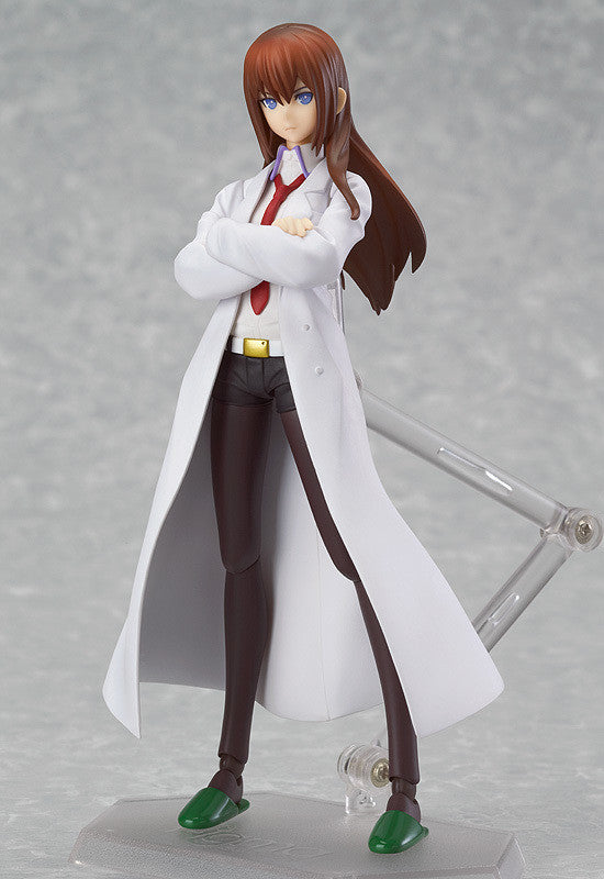 195 Steins;Gate figma Kurisu Makise White Coat ver.