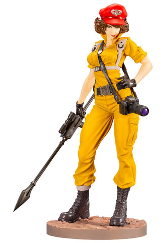 G.I. JOE Kotobukiy LADY JAYE CANARY ANN COLOR BISHOUJO STATUE