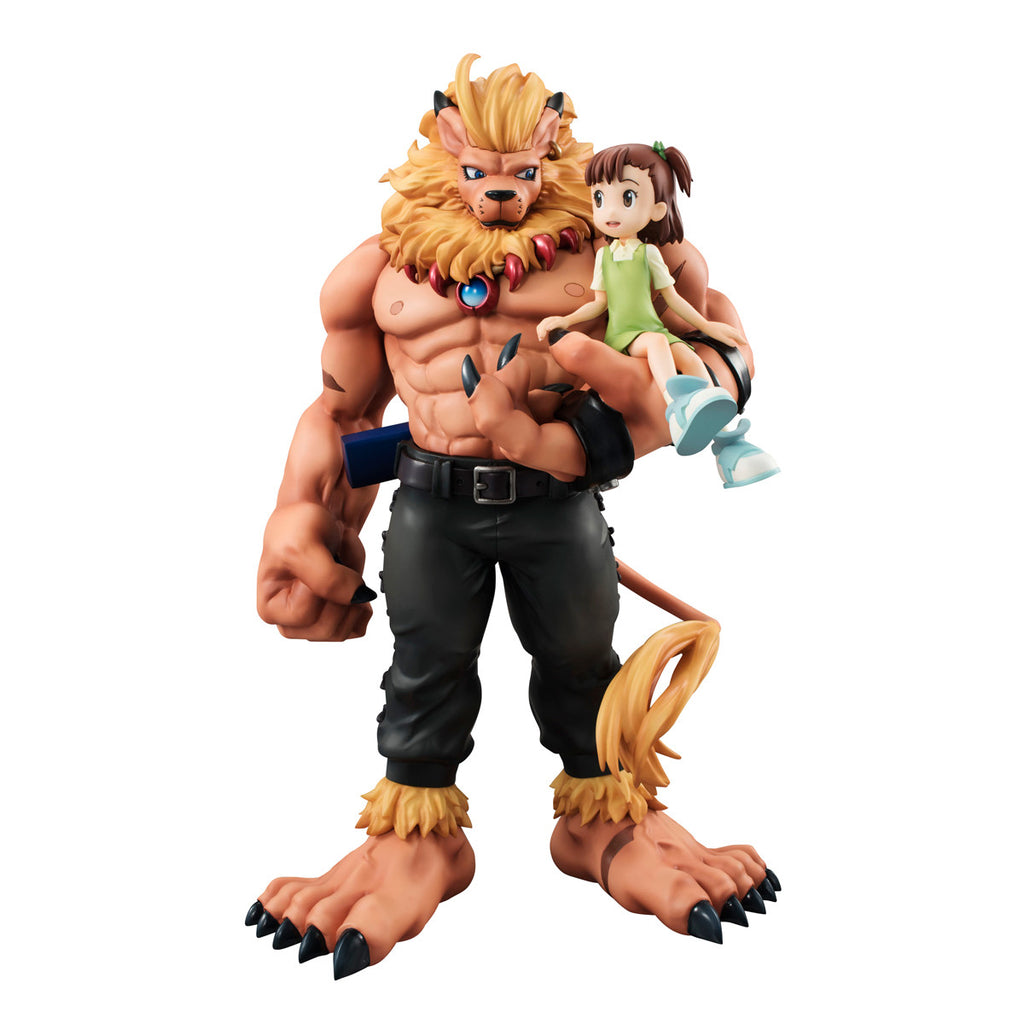 DIGIMON  MEGAHOUSE GEM SERIES DIGIMON TAMERS LEOMON&KATO JYURI