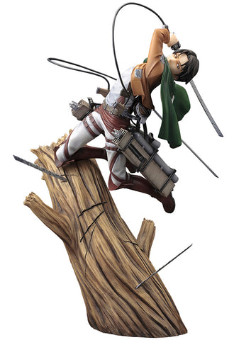 ATTACK ON TITAN Kotobukiya ARTFX J LEVI (RENEWAL PACKAGE VER.)