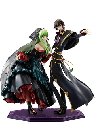 CODE GEASS Lelouch of the Re; surrection MEGAHOUSE G.E.M. L.L. & C.C. SET