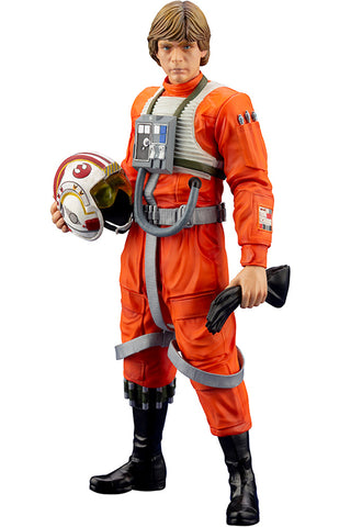STAR WARS Kotobukiya LUKE SKYWALKER X-WING PILOT ARTFX+