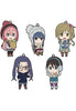 Laid-Back Camp GOOD SMILE COMPANY Laid-Back Camp: Nendoroid Plus Collectible Rubber Keychains (Set of 5 Characters)