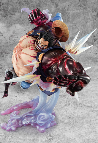 ONE PIECE P.O.P. MEGAHOUSE SA-MAXIMUM Monkey D. Luffy Gear Four Bounce man Ver.2