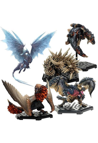 MONSTER HUNTER CAPCOM CFB Monster Hunter Standard Model Plus Vol.14(re-run)(Set of 6 Characters)