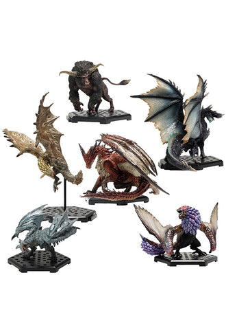 MONSTER HUNTER CAPCOM CFB Monster Hunter Standard Model Plus Vol.18 (Set of 6 Characters)