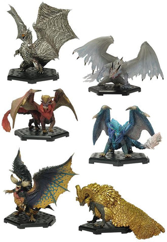 MONSTER HUNTER WORLD CAPCOM CFB Monster Hunter Standard Model Plus Vol.13(3rd-run)(Set of 6 Characters)