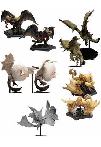 Monster Hunter Capcom MH CFB Standard model Plus Vol.10 (Set of 6 characters)(4th-run)