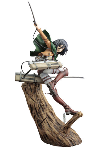 ATTACK ON TITAN Kotobukiya ARTFX J MIKASA ACKERMAN (RENEWAL PACKAGE VER.)