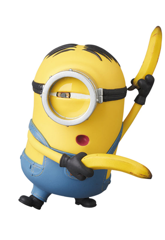TAKE A MINION MULTPLY IT BY 3 MEDICOM UDF MINIONS STUART