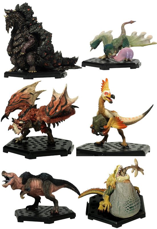 MONSTER HUNTER CAPCOM MH CFB Standard model Plus Vol.9 (Set of 6 Characters)(re-run)