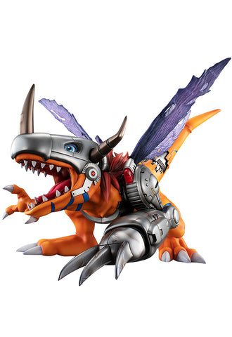 DIGIMON MEGAHOUSE G.E.M. SERIES DIGIMON ADVENTURE Metal Greymon