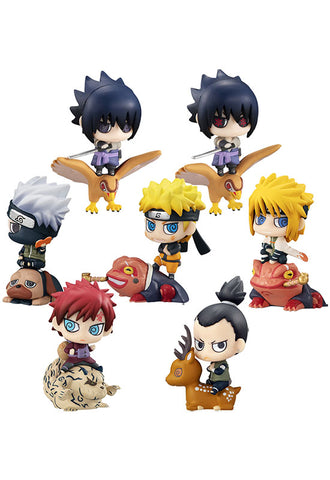Petit Chara Land NARUTO MEGAHOUSE New Color! KUCHIYOSE (Set of 8 Characters)