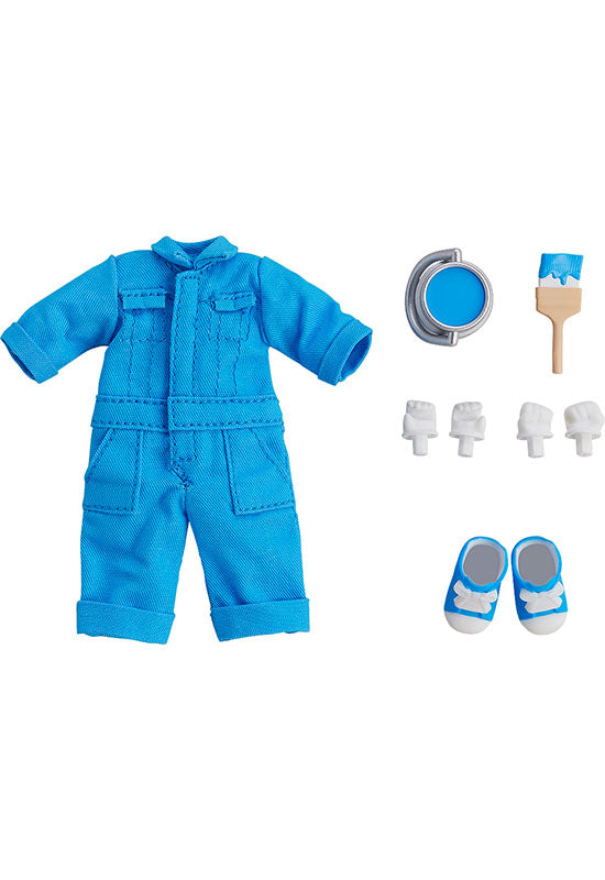 Nendoroid Doll Good Smile Company Nendoroid Doll: Outfit Set (Colorful Coveralls - Blue)