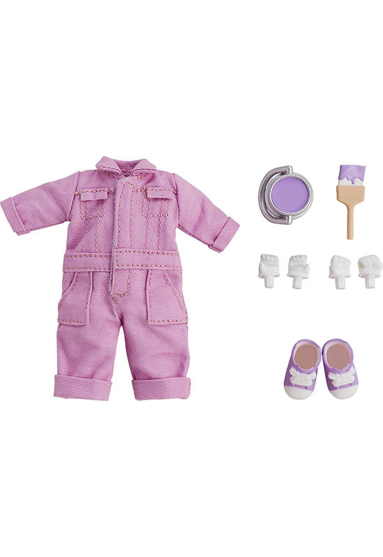 Nendoroid Doll Good Smile Company Nendoroid Doll: Outfit Set (Colorful Coveralls - Purple)