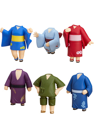 Nendoroid More Nendoroid More: Dress Up Yukatas (Box Set of 6 Characters)